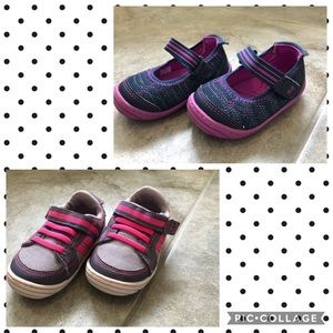 Bundle of 2 Surprise by Stride Rite shoes size 4